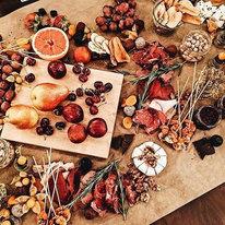 Виноград, клубника, голубика, груши, яблоки 154г