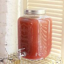 Грейпфрутово-клубничный лимонад с базиликом 5,5л