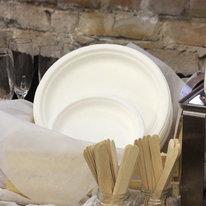 Тарелка из эко-материала