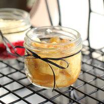 Медовые яблоки с изюмом и кедровыми орехами 85г