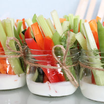 Овощные палочки с йогуртом 85г
