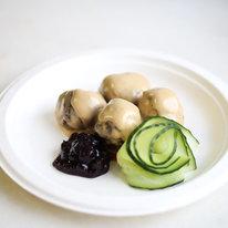 Шведские фрикадельки с брусничным соусом 130г