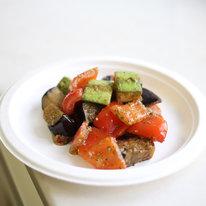 Запеченные овощи с песто 120г