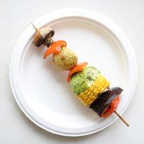 Мини-шашлык из овощей 100г