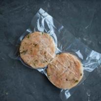 Рубленые куриные котлеты для бургеров (2 шт/200 г)