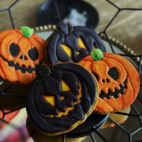 Имбирные пряники Halloween (4 шт)