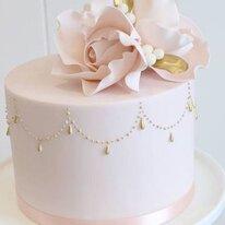Торт Rose gold 1,5 кг