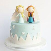 Торт Анна и Эльза 2 кг