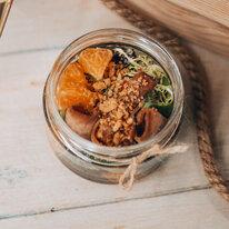 Салат с языком и мандаринами 60 г