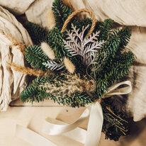 Рождественское украшение для дома - на петельке