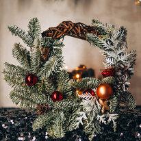 Рождественское украшение для дома - венок