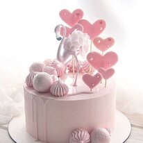 Розовый фламинго 1 кг