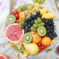 Поднос с фруктами