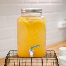 Цитрусовый лимонад в банке