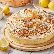 Лимонный тарт с обожженной меренгой