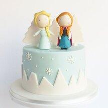 Торт Анна и Эльза