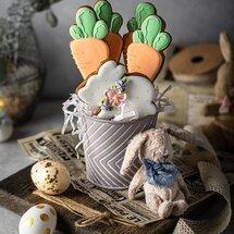 Набор пряников Зайка с морковками
