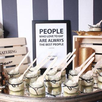 Кэнди бар с десертами в баночках