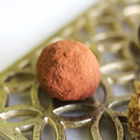 Шоколадный трюфель с имбирем