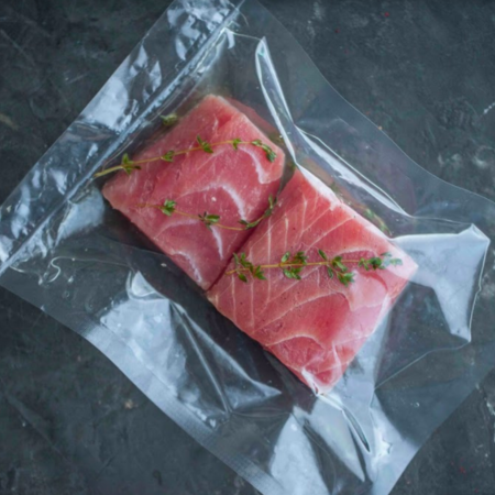 Стейки из филе тунца