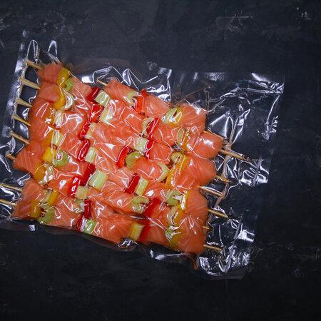 Шашлычки из лосося