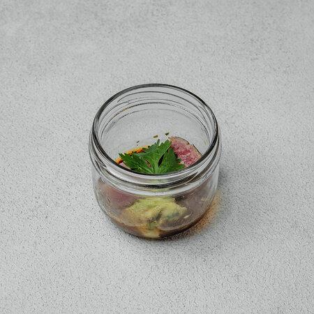 Тунец в азиатском соусе