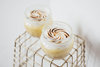 Лимонный десерт с меренгой