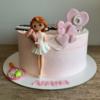 Торт Девочка с шариками
