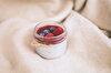 Чиа-пудинг с ягодным соусом