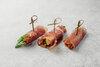 Пармская ветчина с грушей и рукколой