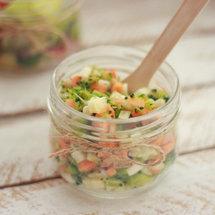 Мульти-салат с фенхелем и брокколи