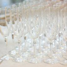 Аренда бокалов для шампанского